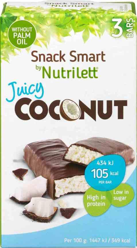 Bilde av Nutrilett bar juicy coconut 3x30gr.