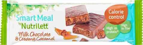 Bilde av Nutrilett bar milk Chocolate and creamy caramel.