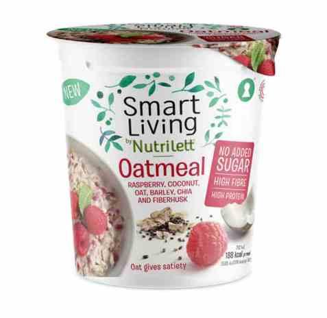 Bilde av Nutrilett oatmeal raspberry 50gr.