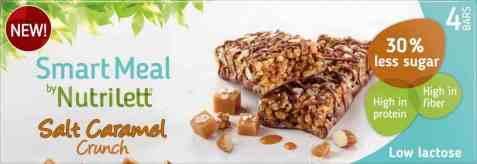 Bilde av Nutrilett bar salt caramel 4pk.