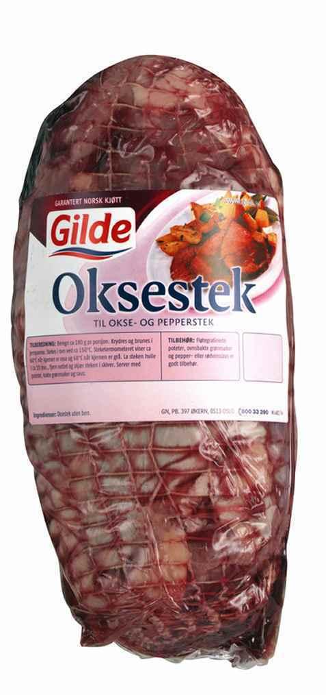 Bilde av Gilde Oksestek, surret.
