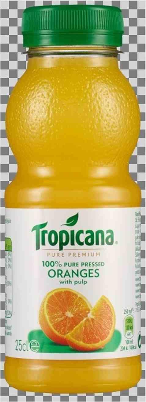 Bilde av Tropicana Appelsinjuice m/fruktkjøtt 250 ml.