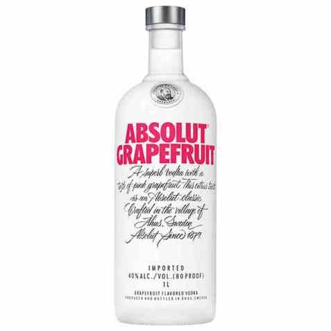 Bilde av Absolut grapefruit Vodka.