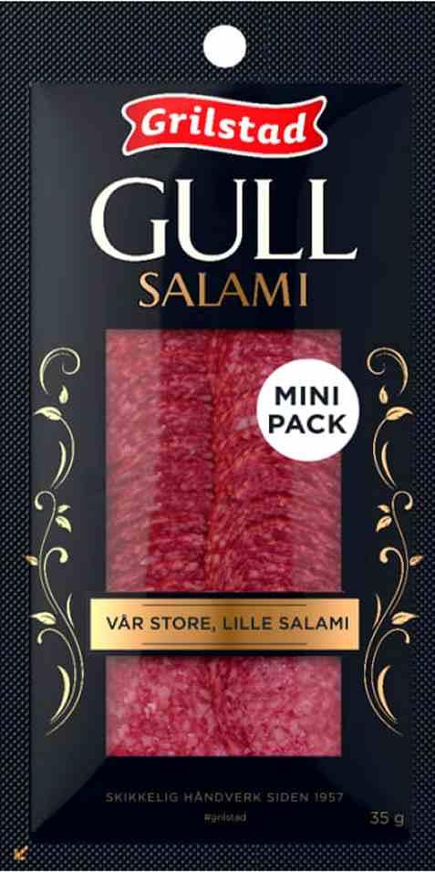 Bilde av Grilstad gullsalami 35gr.