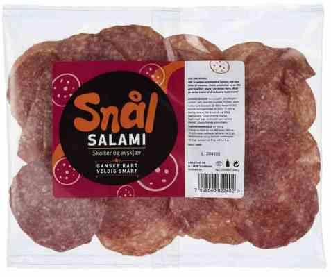 Bilde av Grilstad salami snål skalker og avskjær 200gr.