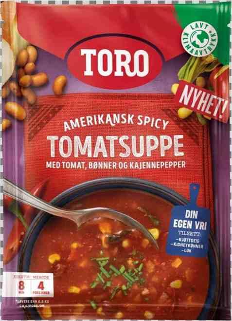 Bilde av Toro tomatsuppe spicy amerikansk.