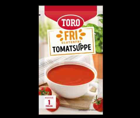 Bilde av Toro glutenfri tomatsuppe porsjonspakning.