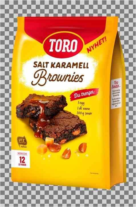 Bilde av Toro Brownie salt karamell.