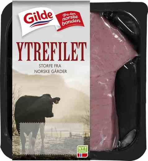 Bilde av Gilde Ytrefilet, Norsk Kjøttfe.