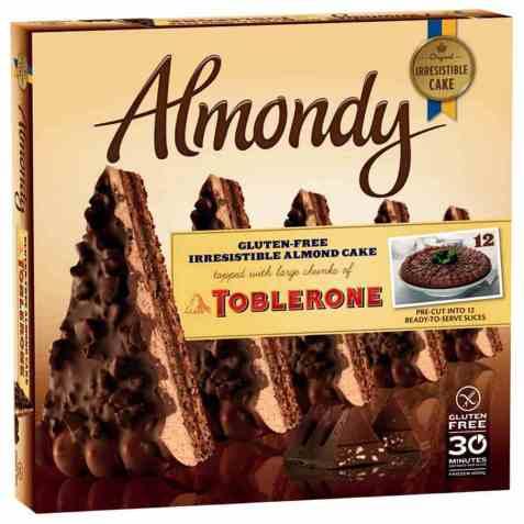 Bilde av Almondy Toblerone 1kg.