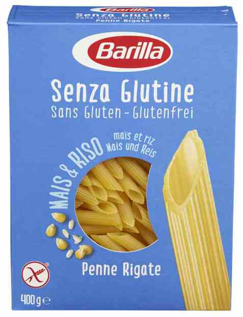 Bilde av Barilla Penne rigate glutenfri.
