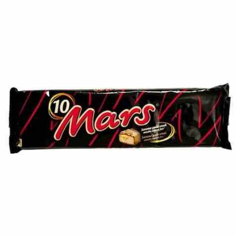 Bilde av Mars Sjokolade 10pakke 450gr.