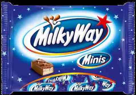 Bilde av Mars Milky Way mini 403gr.