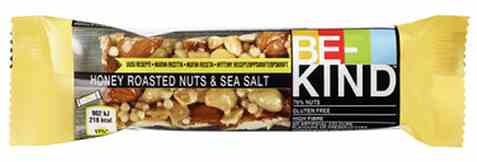 Bilde av Be-kind proteinbar Honey Roasted Nuts&Seasalt.