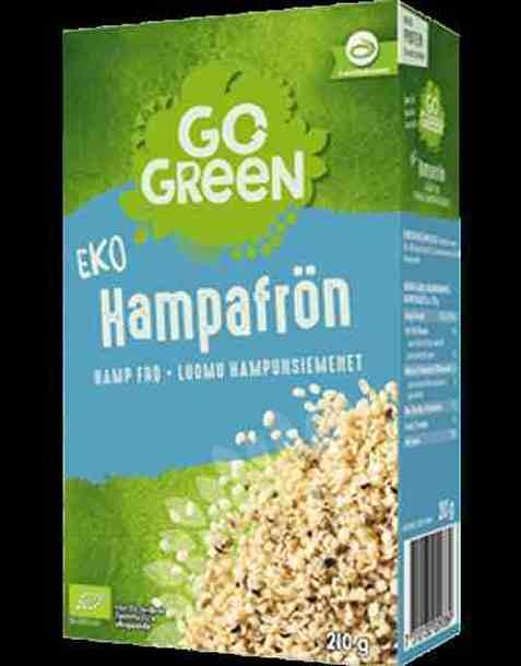 Bilde av Gogreen økologisk hampfrø.