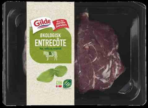 Bilde av Gilde økologisk Entrecote.