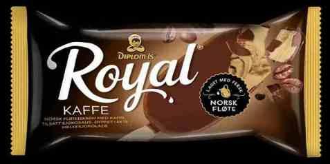 Bilde av Diplom-is Royal kaffe.