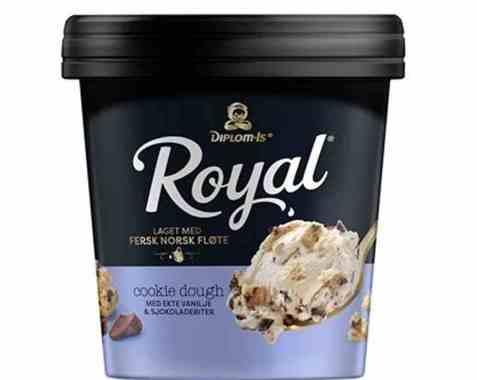 Bilde av Diplom-is Royal Cookie Dough.