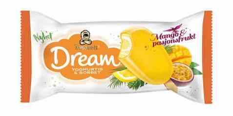 Bilde av Diplom-is dream Mango og Pasjonsfrukt.