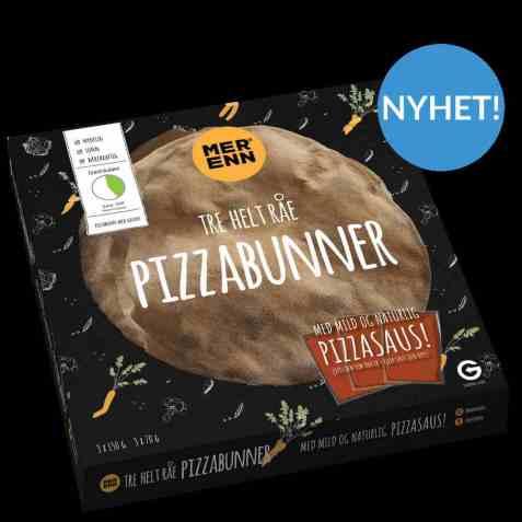 Bilde av Isbilen Pizzabunner med saus.