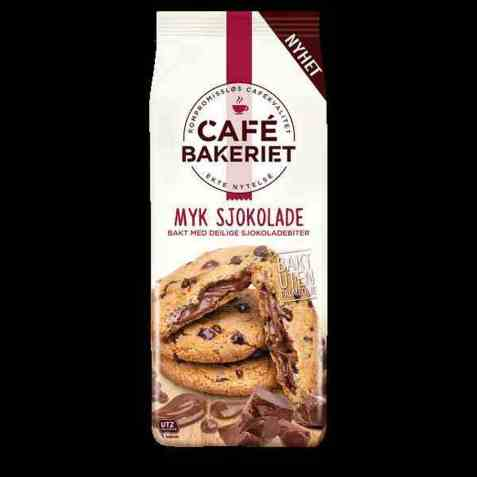 Bilde av Sætre cafe bakeriet myk sjokolade.
