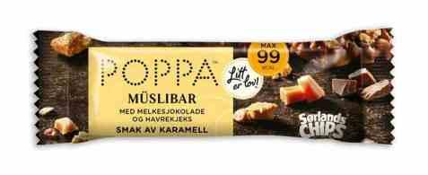 Bilde av Sørlandschips poppa muslibar karamell 25gr.