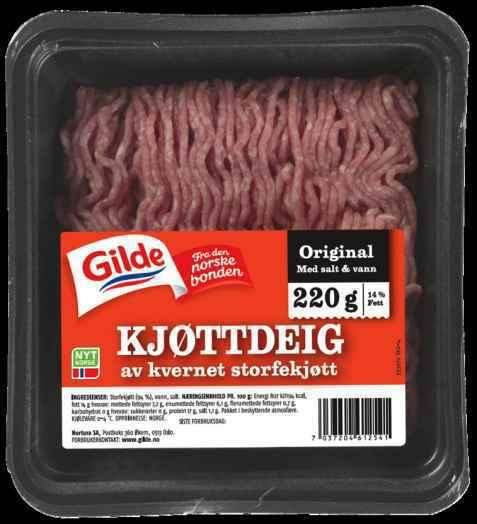 Bilde av Gilde Kjøttdeig, kvernet.