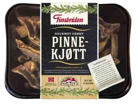 Bilde av Finsbråten pinnekjøtt kappet urøkt.