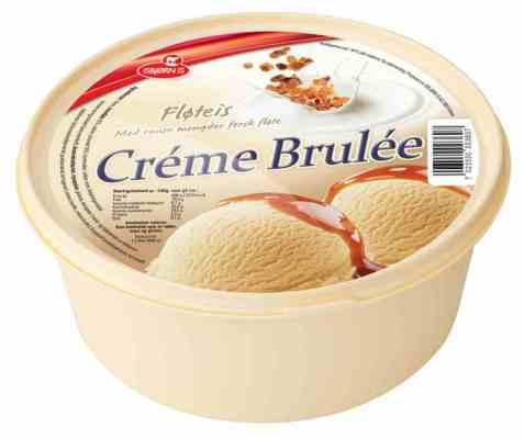Bilde av Isbjørn Is Crème Brûlée.