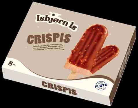 Bilde av Isbjørn Is Crispis 8 pakke.