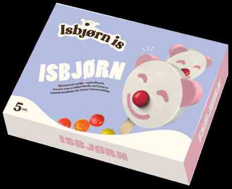 Bilde av Isbjørn Is Isbjørn 5 pakke.