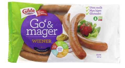 Bilde av Gilde Go og Mager Wienerpølse.