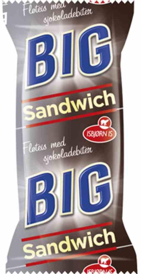 Bilde av Isbjørn Is Big Sandwich.