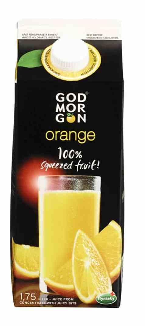 Bilde av Arla God Morgen appelsinjuice med fruktkjøtt 1,75 l.
