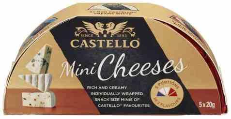 Bilde av Arla Castello Mini Cheeses 100gr.