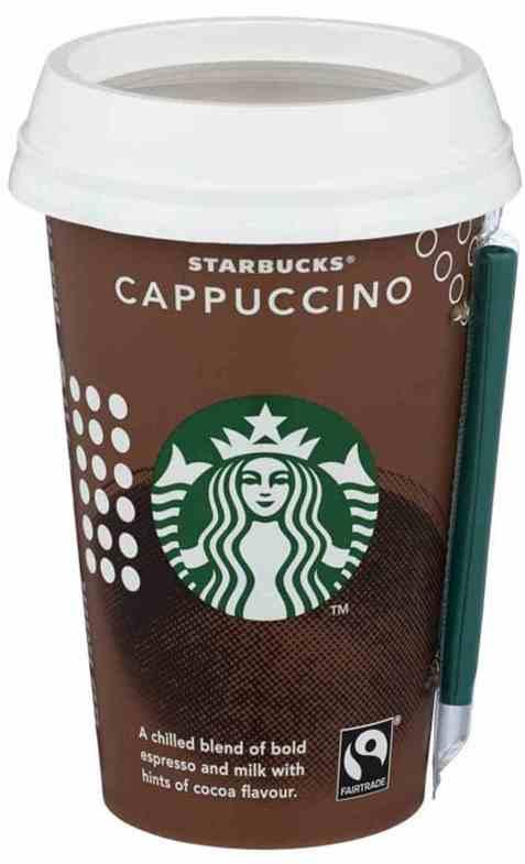 Bilde av Starbucks cappuccino 220ml.
