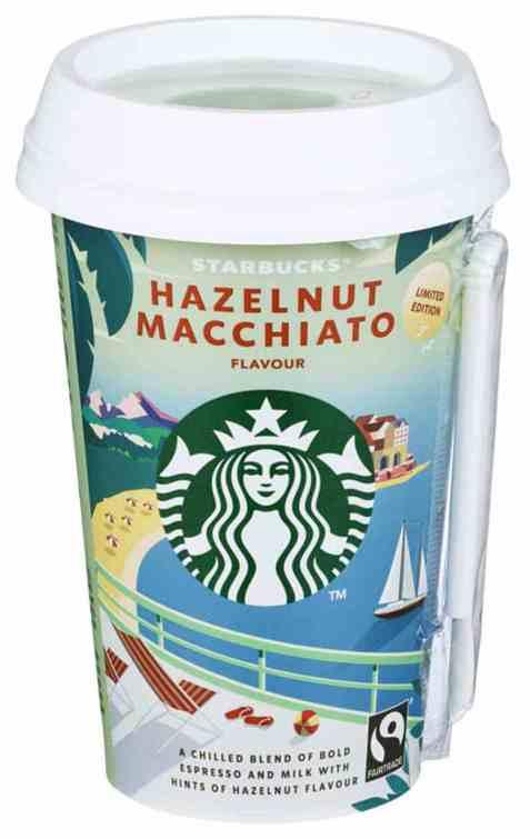 Bilde av Starbucks hazelnut macchiato 220ml.