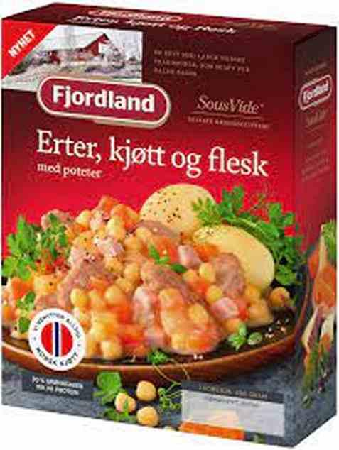 Bilde av Fjordland Erter Kjøtt og Flesk m Poteter 480 g.
