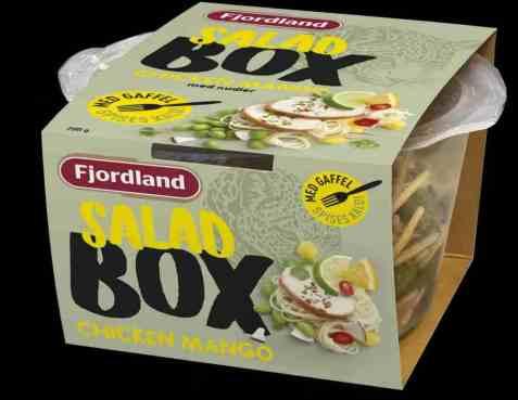 Bilde av Fjordland salad box Chicken Mango Salad.