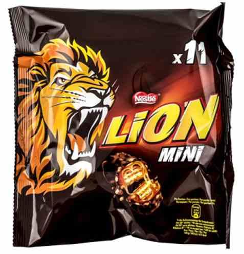 Bilde av Nestle Lion mini 198gr.