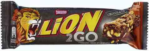 Bilde av Nestle Lion 2go chocolate 33gr.