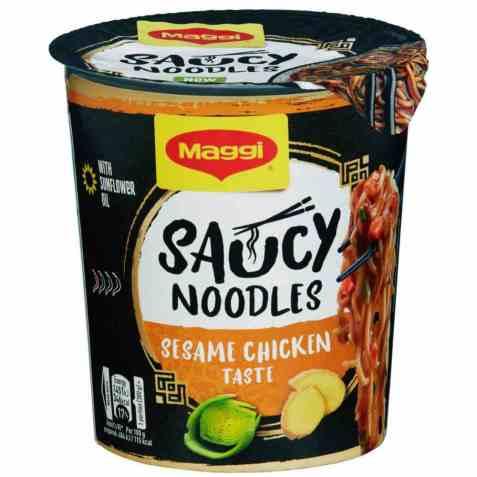 Bilde av Maggi Saucy Noodles Sesame Chicken 75g.