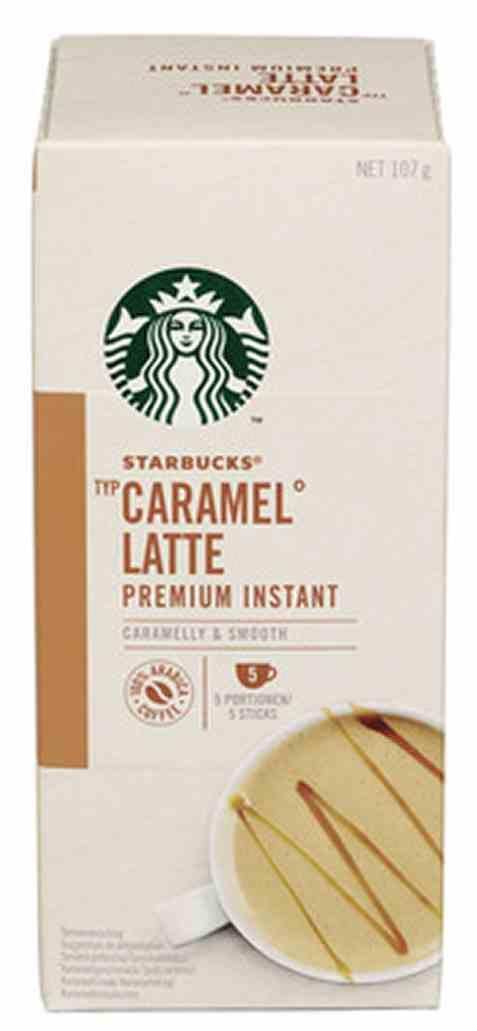Bilde av Starbucks caramel latte 107gr.
