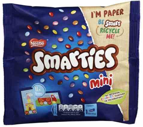 Bilde av Nestle smarties mini 158gr.