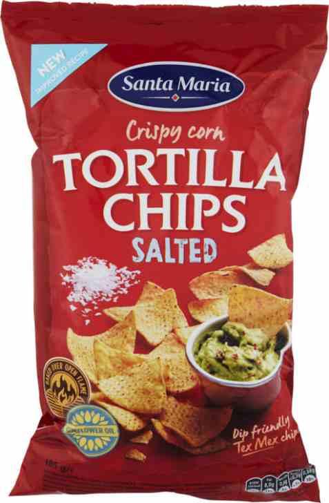 Bilde av Santa maria Tortilla Chips salted 185gr.