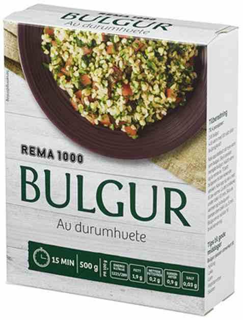 Bilde av Rema 1000 Bulgur 500g.
