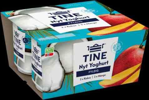 Bilde av Tine Yoghurt Nyt Mango og Kokos.