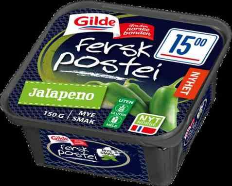 Bilde av Gilde Fersk leverpostei jalapeno.