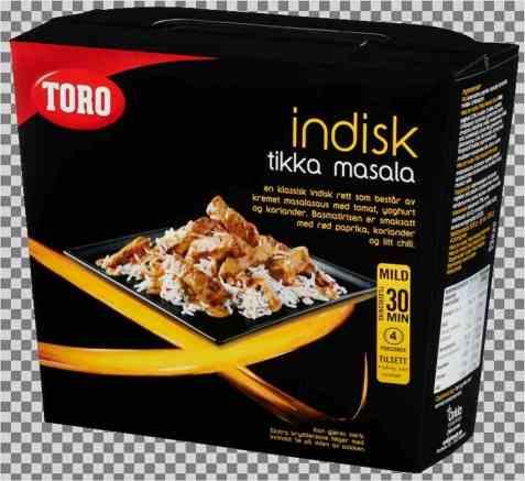 Bilde av Toro indisk tikka masala ferdig.