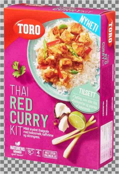 Bilde av Toro thai red curry kit ferdig.